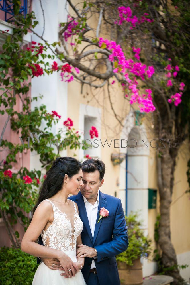 Peristera and Vasilis next day photoshgootng in Assos , Kefaloni